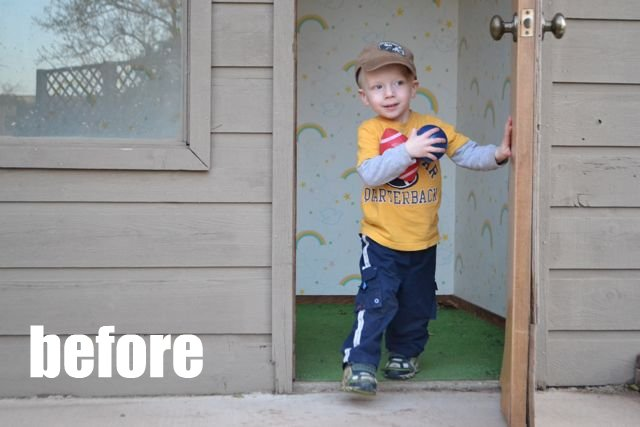 diy playhouse easy